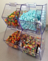 Acrylic Bins Bulk Candy Dispenser Storage Candy Container